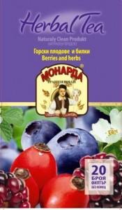 чай Горски плодове Монарда