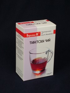 Тибетски чай вербена по рецепта на д-р А.Михайлов